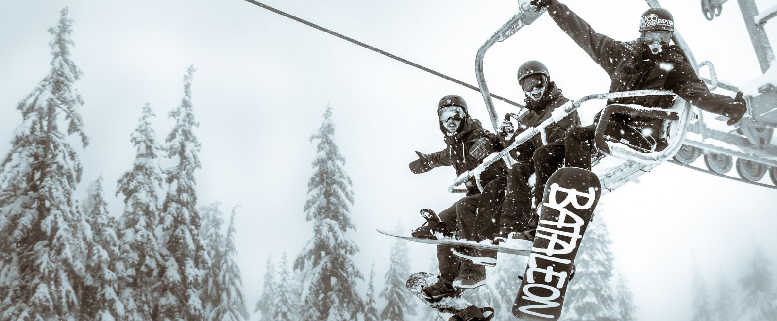 Mystery Peak Express Quad Chair at Mt Seymour in Vancouver