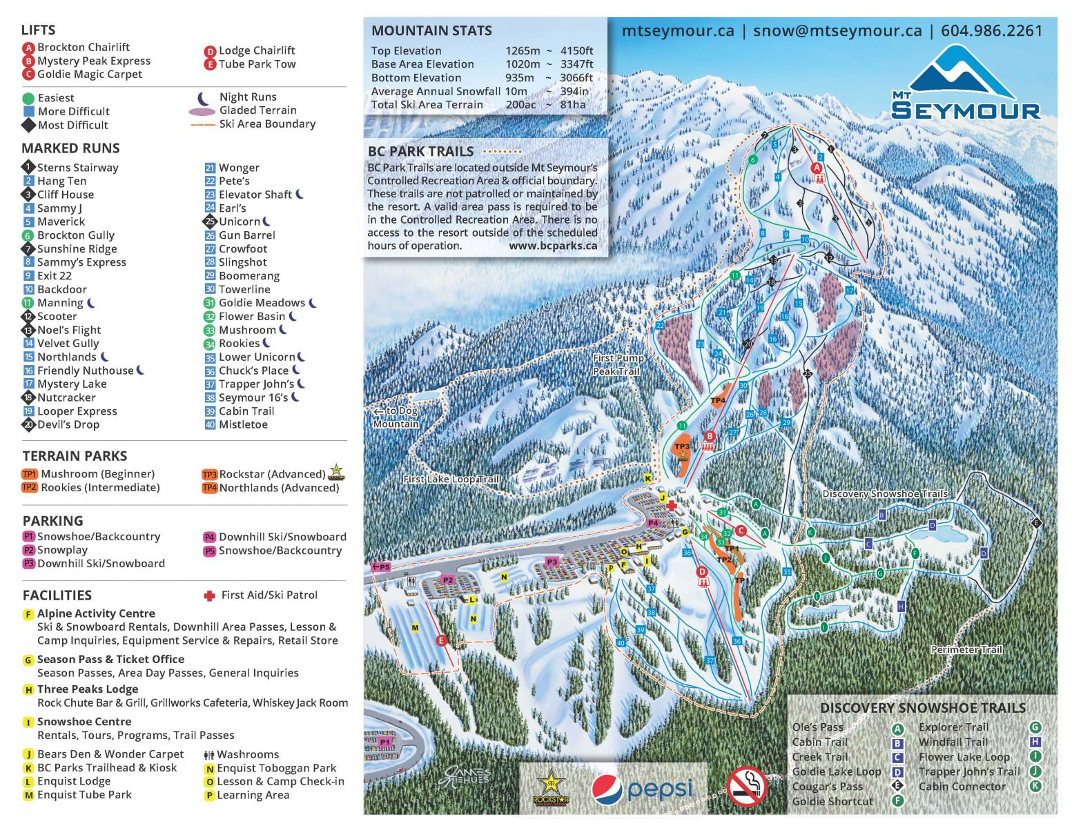 Trail Map | Mt Seymour on snowshoe wv, babcock state park map, cass scenic railroad map, snowshoe lodging, snowshoe village, snoqualmie valley trail map, holly river state park map, snowshoe restaurants, snowshoe western territory, snowshoe mountain,