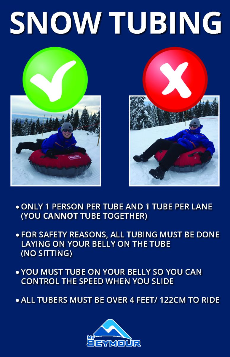 How to snow tube at Mt Seymour