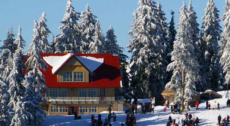 Enquist Lodge at Mt Seymour in Vancouver